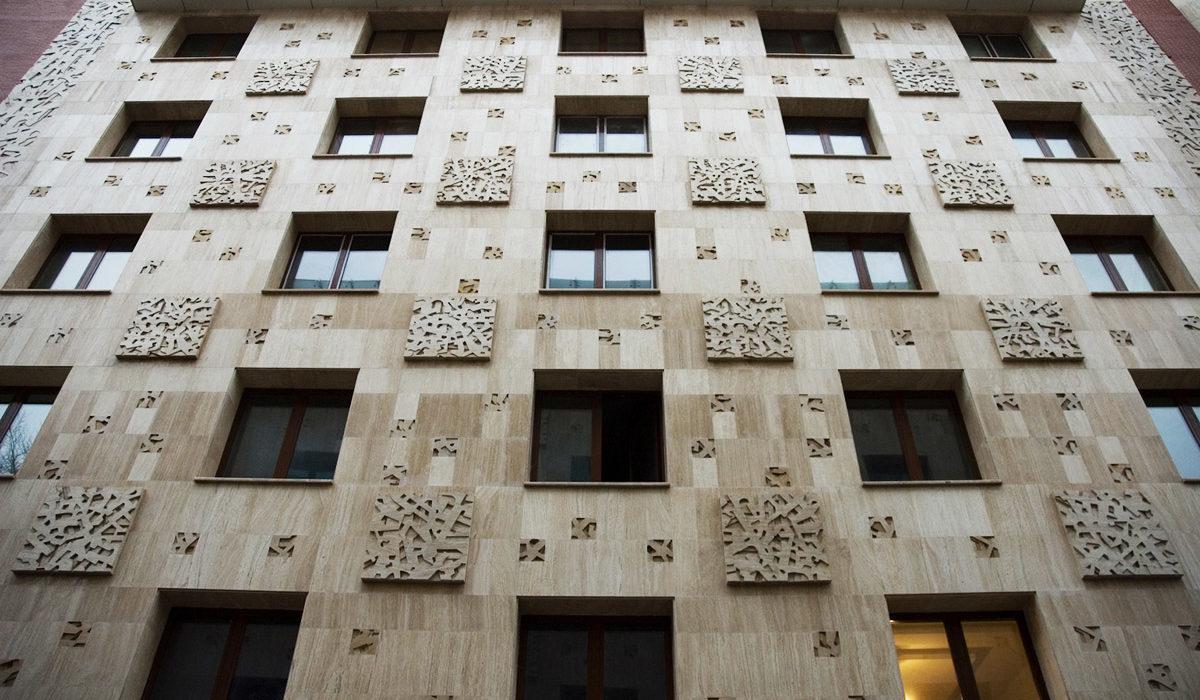 облицовка фасада натуральным камнем