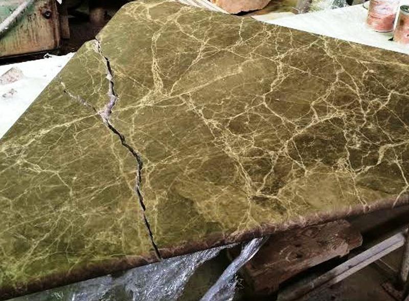 реставрация каменного изделия