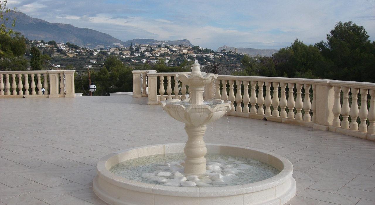 фонтаны изкамня