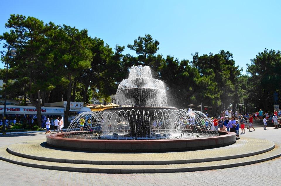 фонтан для города