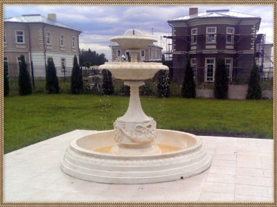 белый фонтан