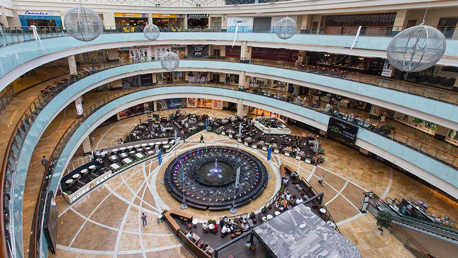 фонтан в торговый центр