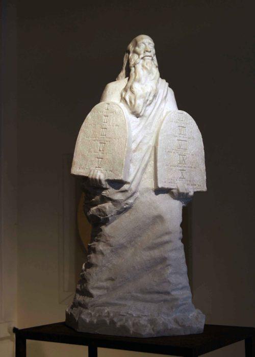 Моисей, мрамор